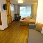 Photo of Double room, bath, toilet, balcony | © Pension Tannnenhof - Leogang