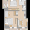 Photo of Apartment, shower, toilet, 1 bed room